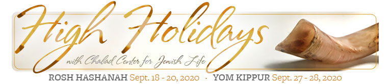 High Holidays at Chabad